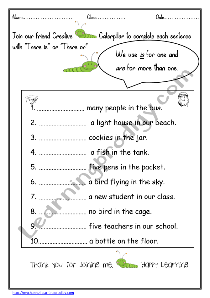 English Grammar Worksheet Archives LearningProdigy
